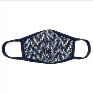 Accessories - Any 2 $30 Iridescent Sequins Designer Face mask